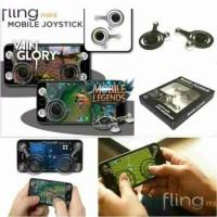 PROMO Mobile Joystick Gamepad Fling Mini Joystick Gaming Mobile Legend