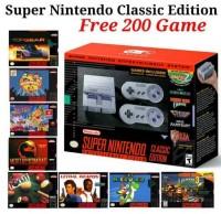 Super Nintendo Super NES Classic Edition Bonus 200 Games