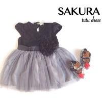 Sakura Tutu Dress / Dress Bayi / Dress Pesta Bayi