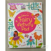 Usborne Fairy Activity Pad, Activity Book, Buku Aktifitas Anak Import