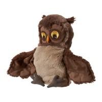 Mainan Anak IKEA VANDRING UGGLA Boneka Tangan Burung Hantu Hand Puppet