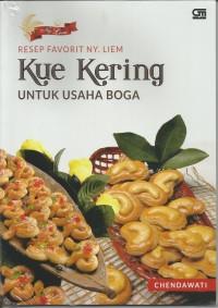 Resep Favorit Ny. Liem: Kue Kering untuk Usaha Boga -  Chendawati
