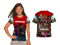 Kaos Baju Anak Fullprint Custom ROBLOX 05