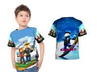 Kaos Baju Anak Fullprint Custom ROBLOX 06
