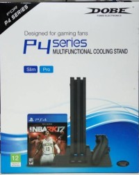 Dobe Cooling Fan PS4 Slim - Vertical Stand PS 4 Pro - Charger PS4 Fat