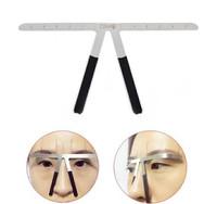 Penggaris cetakan sulam alis eyebrow balance ruler