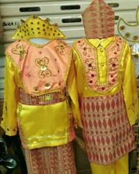 Pakaian adat anak baju bangka belitung Lk - Pr