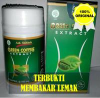 PEMBAKAR LEMAK SLIM BODY HERBAL GREEN COFFE ORIGINAL