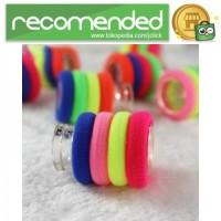 Ikat Rambut Model Rainbow 5PCS - Multi Warna