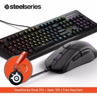 Steelseries Rival 310 + Apex 150 Mambrance free Keychain