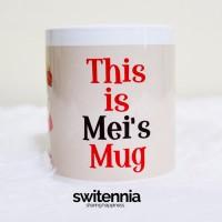 Mug Totoro Custom Nama