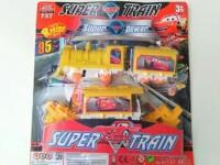 SUPER POWER TRAIN CARS SERI 737018B MAINAN KERETA API T PROMO