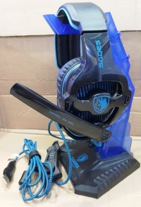 Headset Gaming Sades SA-903 with 7.1 Channel Sound