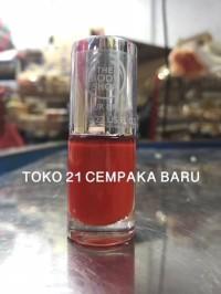 Kutek The Body Shop 130 RED MY MIND | Kutek Kuku Nail Colour Merah