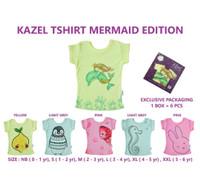 Kazel Tshirt Mermaid Edition (6 in 1)