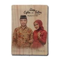 Kado Unik Custom Foto Kayu Photowood Hiasan Dinding Hafiah Souvenir