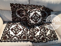 set sarung bantal sofa 40x40 dubay