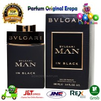 Parfum Pria BVLGARI MAN In Black Parfume Original Ori Reject Prancis