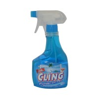 CLING GLASS CLEANER BLUE 440ML
