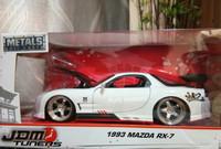 Diecast Jada Toys 1993 Mazda RX-7 RX7 Limited 1:24