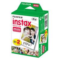 Fujifilm Refill Polaroid Instax Mini Film Twinpack Plain - 20 PCS