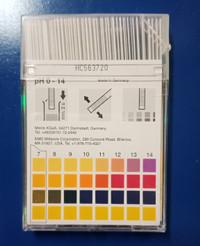Kertas pH Paper /pPH universal 0-14 / pH indicator / MERCK