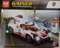 Mobil balap Lego Lepin 28017 speed hampions porsche 919 hybrid