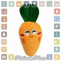 Mainan Gigit Anjing Model Sayuran - Orange`HRHRMI-