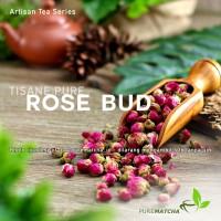 Artisan Tea Cafe - Pure Rose Bud Bunga Mawar Kering Dried SAMPLE 10gr