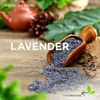 Artisan Tea Cafe - Pure Lavender Flower Bunga Lavender Dry SAMPLE 10gr