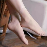 10 helai stocking tipis pendek, kaos kaki wanita