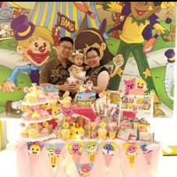 Dekorasi balon ulang tahun dessert table tangerang jakarta depok