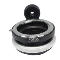 Fotga Tilt Shift Adapter Ring For Nikon F Lens To Sony E Mount A6000