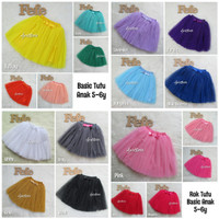 Basic Skirt Rok Tutu Anak 5-6y