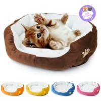 Kasur Ranjang Tempat Tidur Rumah Square Hewan Anjing Kucing lembut