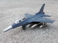 DIECAST PESAWAT JET TEMPUR F-16 - MINIATUR JET F16 - REPLIKA MAINAN