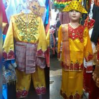 Pakaian baju adat anak gorontalo size L -XL Lk/Pr