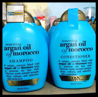 SHAMPO OGX ORGANIX ARGAN OIL MORROCAN SHAMPOO HAIR DAMAGE TREATMENT