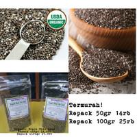 Organic Black Chia Seed / Biji Chia Hitam Organik MPASI Bayi