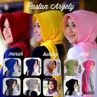 Hijab Jilbab Instan Pastan Arzety Bahan Spandex Rayon
