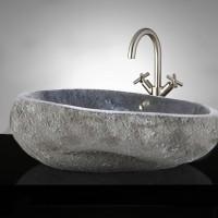 Wastafel Batu Alam / Natural Wash Basin
