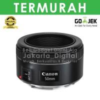 Jakarta Digital Canon EF 50mm f/1.8 STM Garansi RESMI Lensa Bokeh FIX