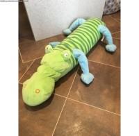 IKEA Barnslig Krokodil Crocodile Boneka Guling Buaya, Mainan anak lucu