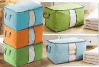 013 Storage Bag Tidur Box Tempat Penyimpanan Pakaian Selimut Bed Cover