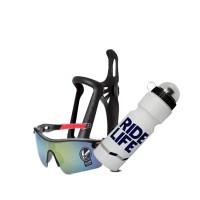 Paket Sepeda / Holder Botol / Botol Minum / Kacamata