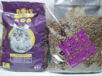 Bolt makanan kucing bentuk ikan 1kg