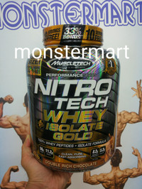 iso Nitrotech whey isolate gold muscletech nitrotech iso gold