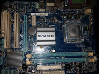 Motherboard G41 Gigabyte+Proci Intel E5500+Pan Deep Cool