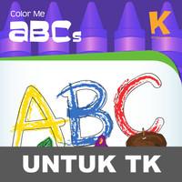 Color Me ABC Buku Aktivitas Mewarnai Gambar Membaca Huruf Anak TK