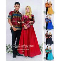 Couple Gamis Sabrina / Sarimbit Kebaya Batik Velvet